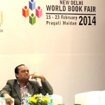 Joygopal Podder in the Authors Corner at the New Delhi World Book Fair 2014