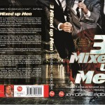 "Front and back cover of ""3 Mixed up Men"" by Joygopal Podder"