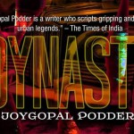 "Part of the cover of ""Dynasty"" by Joygopal Podder"