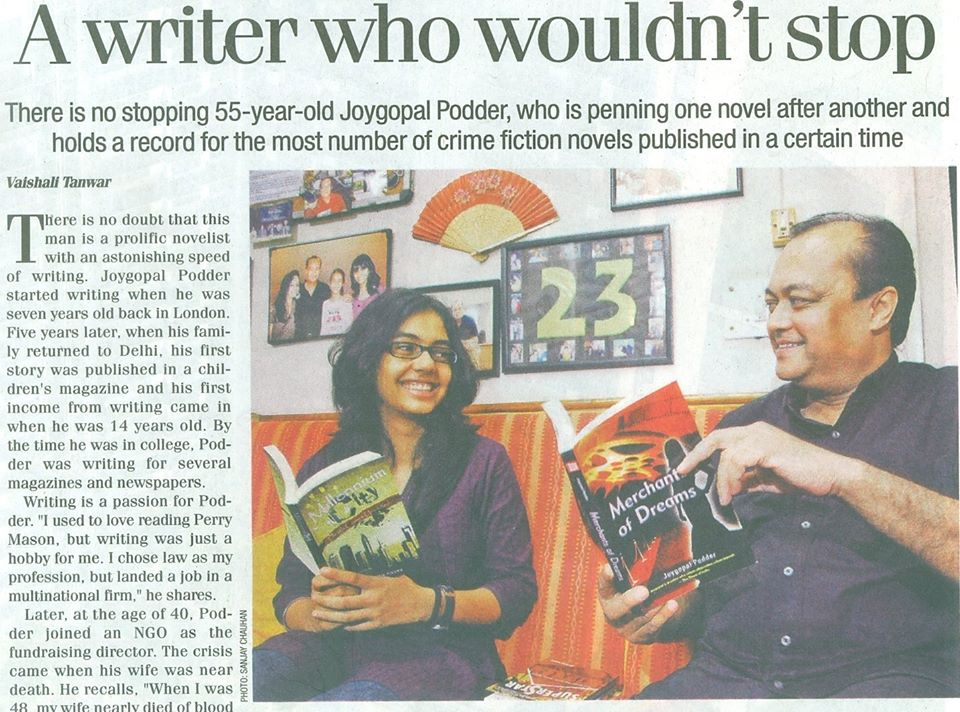 Joygopal Podder writer and author