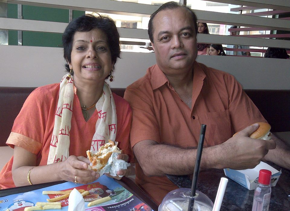 Priti and Joygopal Podder