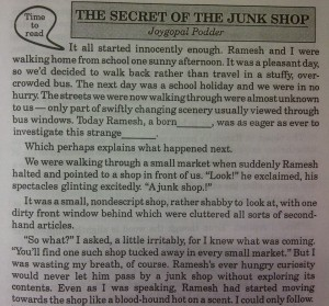 The secret of the junk shop