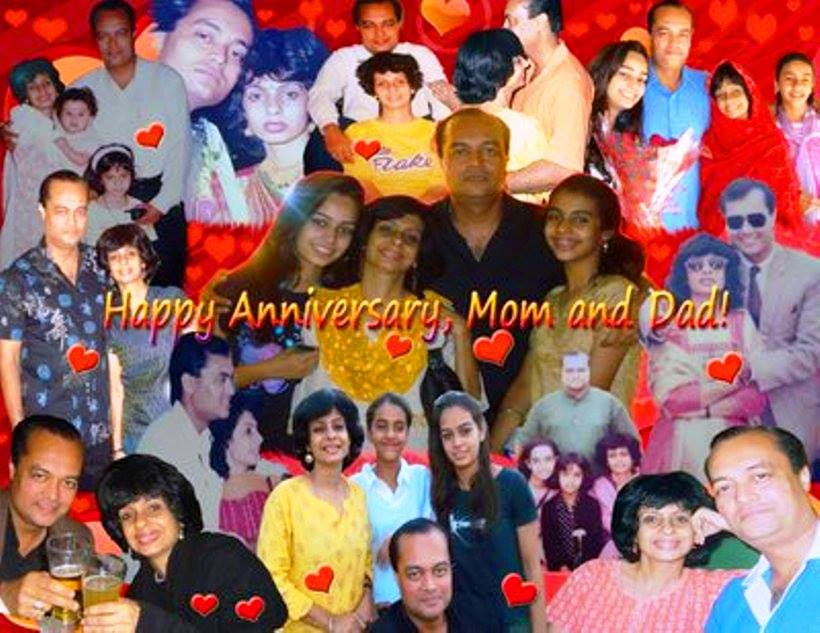 25th Marriage Anniversary