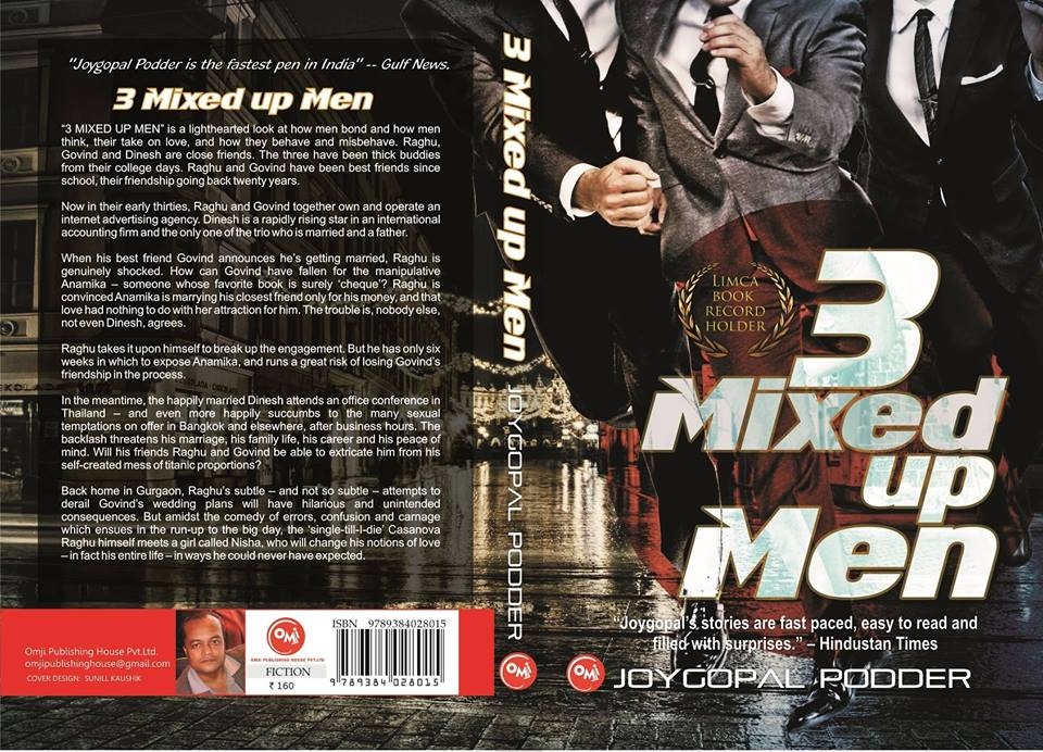 Cover of 3 Mixed up Men by Joygopal Podder