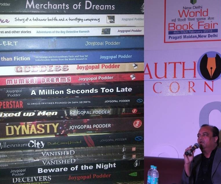 Joygopal Podder With Some Of His Books