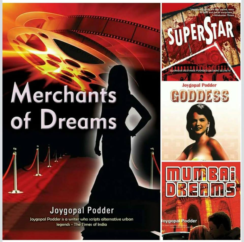@ Bollywood Mania - Four of my Crime Fiction Novels are grounded in the Mumbai Film Industry