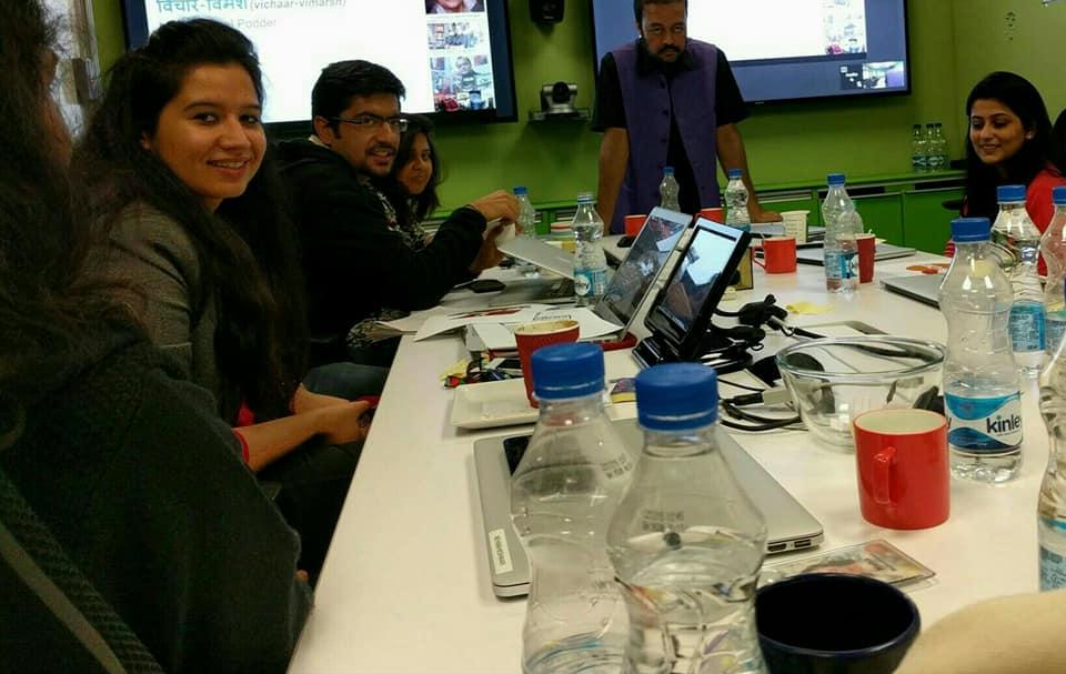 Joygopal Podder @ Google Gurgaon