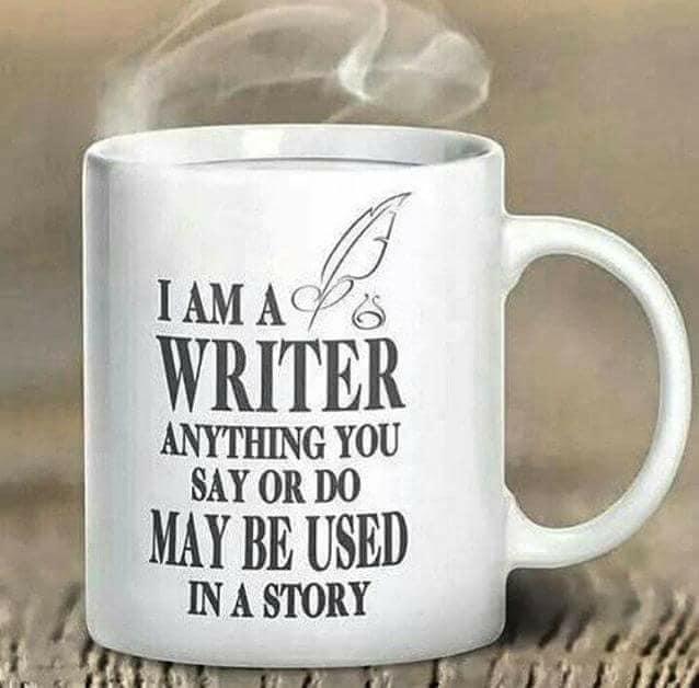 Warning - I am a writer