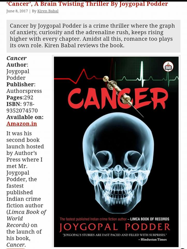 Book Review of Cancer