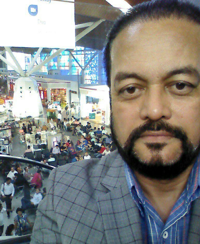Joygopal Podder - Airport Selfie