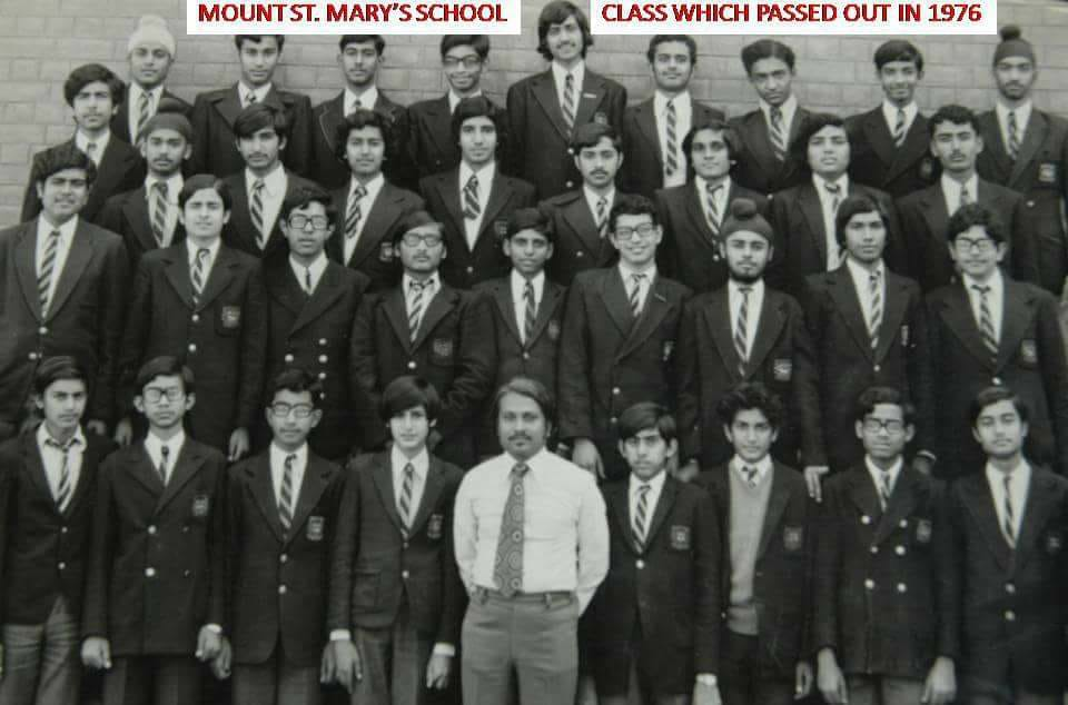 Joygopal Podder in Mount St Mary School