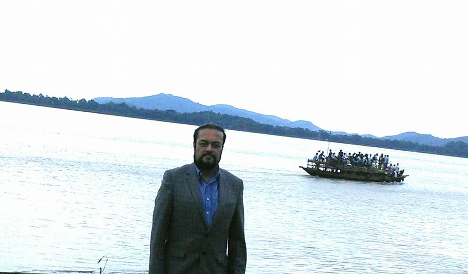 On the banks of the Brahmaputra River